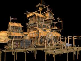 次时代海盗 盗贼酒馆 餐厅 饭馆