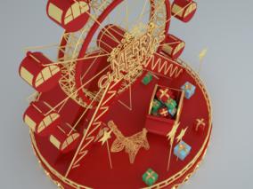圣诞装饰美陈