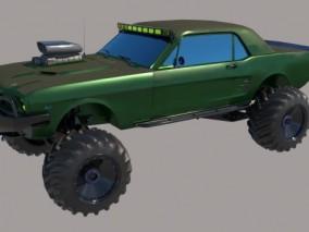 改装车 疯狂麦克斯 拉力赛车 DIY车 越野车 怪兽卡车