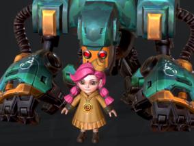 红发小萝莉 机器人
