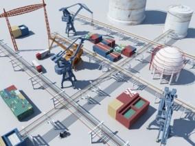 现代工业设备
