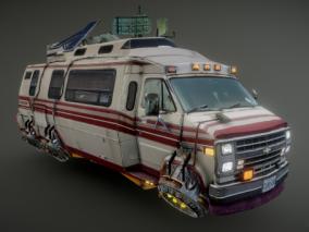 科幻悬浮旅行车
