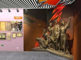 南昌八一纪念馆展厅3d模型