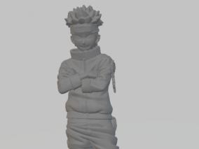 火影鸣人3d打印模型