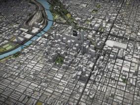 费城3d城市模型