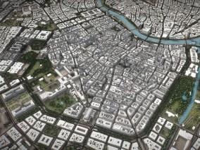 维也纳城市3D模型