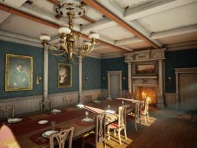UE4超写实欧洲古典房屋