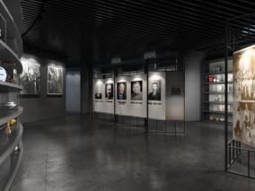 博物馆文化展厅室内3D模型