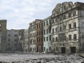 二战废墟场景
