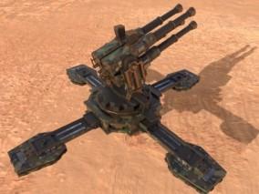 炮台 cg模型