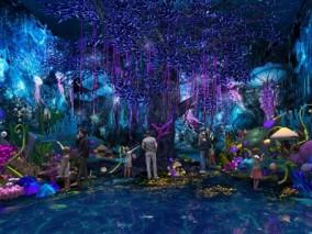 海底森林展厅3D模型