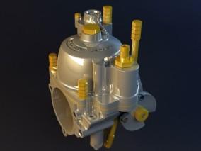 汽车零件-化油器3d模型