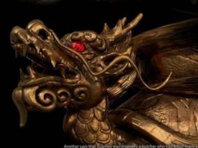 玄武神兽3D雕塑模型d