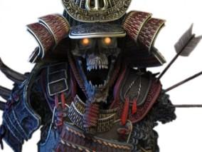盔甲武士3d打印模型