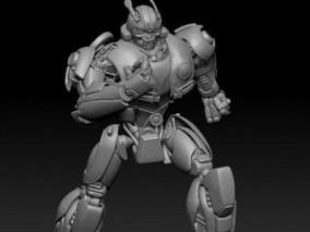 变形金刚 大黄蜂 甲壳虫版3d打印模型