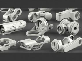 机械零件 机器零件3d模型