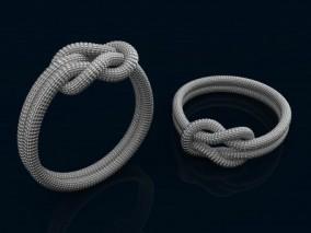 绳子 尼龙绳 绳索3d打印模型