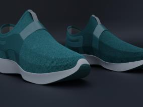 运动鞋 跑鞋 鞋子 3d模型