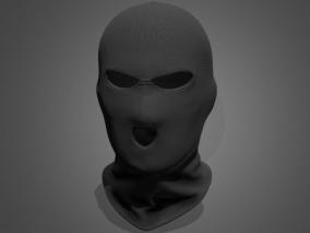 写实头套绑匪头套CG模型