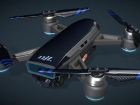 次世代PBR 小精灵 大疆 小米 玩具民用小型无人机 3d模型