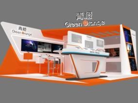 科技 手机展位 展台设计 3d模型