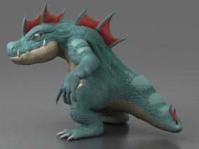 霸王龙 恐龙 次世代霸王龙 恶龙cg模型