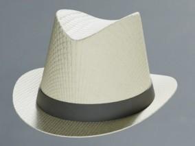 PBR牛仔帽 帽子 服装装饰3d模型