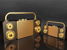 音响 3d模型
