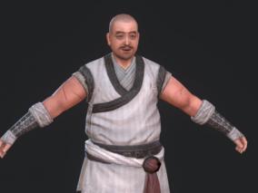国风古装屠夫男CG模型