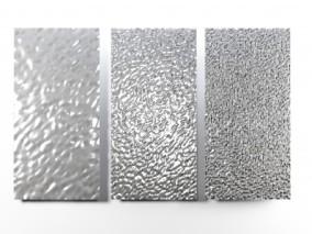 水波纹不锈钢饰面板 3d模型