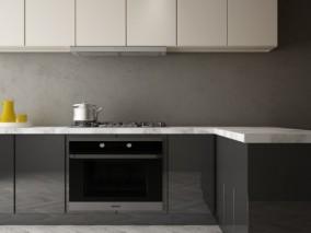柜子 厨房 3d模型