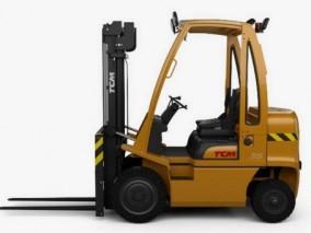 工业叉车CG模型