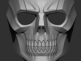 骷髅面具 3d模型