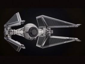 宇宙飞船 星际战舰 拦截器 3d模型