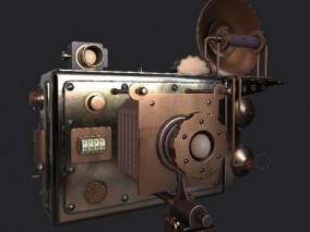 相机 工业齿轮 3d模型