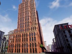 高楼大厦 3d模型