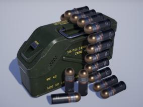 ue4弹药箱Cg模型