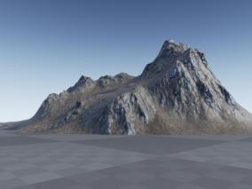 ue4高写实火山CG模型