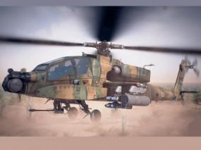 ue4 高质量武装直升机Cg模型