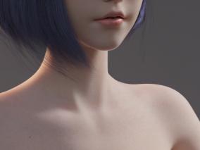 女性基础模型 3d模型