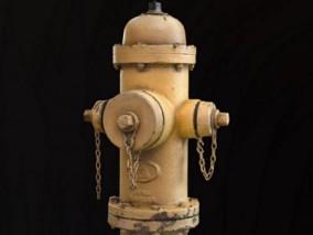 复古 消防栓 3d模型