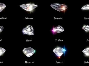 ue4钻石宝石Cg模型