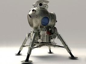 登月火星探测器Cg模型