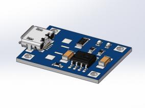 电子电路 3d模型