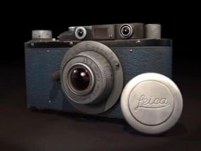 徕卡复古相机CG模型