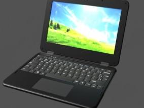 笔记本 3d模型