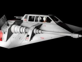 科幻飞船太空战机CG模型