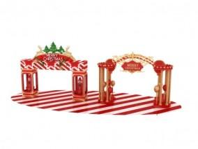 圣诞装饰商场美陈3D模型