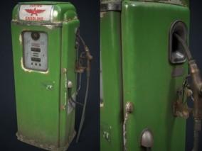 加油机加油设备CG模型
