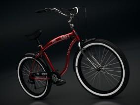 写实自行车Cg模型